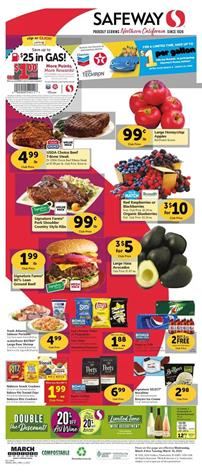 Safeway Weekly Ad Sale Mar 4 - 10, 2020