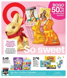 Target Ad Easter Sale Mar 29 - Apr 4, 2020