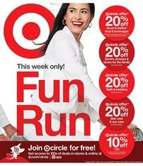 Target Circle Fun Run March 2020
