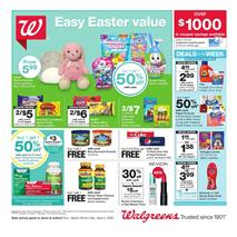 Walgreens Weekly Ad Easter Mar 29 Apr 4 2020