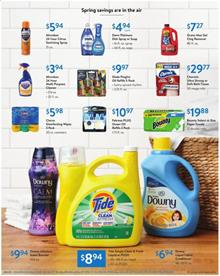 Walmart Cleaning Products Feb 28 - Mar 14, 2020