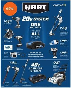 Walmart Hart Tools New Products March 2020