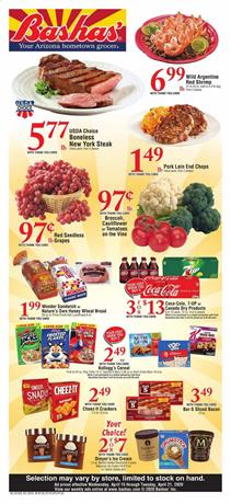 Bashas Ad Grocery Sale Apr 15 - 21, 2020