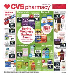 CVS Pharmacy Sale Apr 19 - 25, 2020