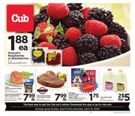Cub Foods Ad Raspberry Deal or Blackberries