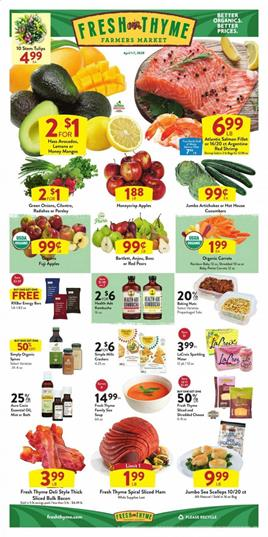 Fresh Thyme Ad Sale Apr 1 7 2020