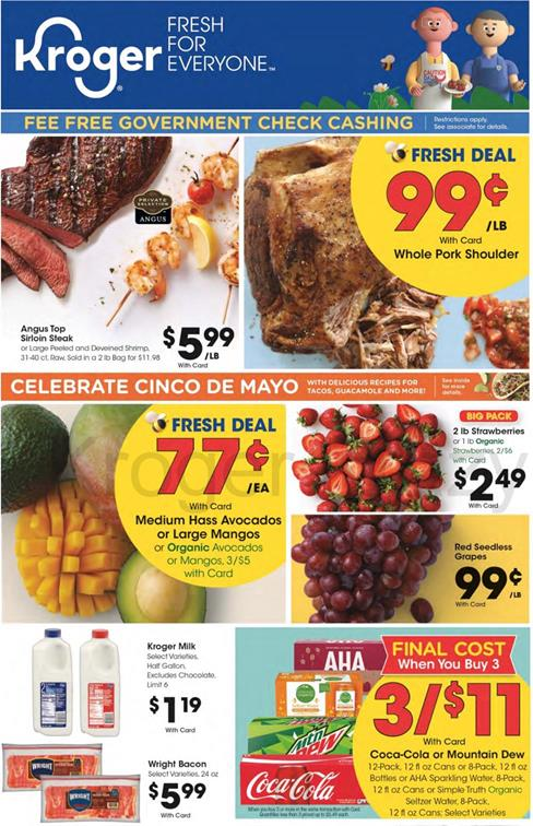 Kroger Weekly Ad Preview Apr 29 May 5 2020