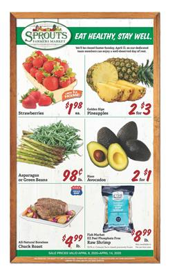 Sprouts Ad Fresh Food Sale Apr 8 14 2020