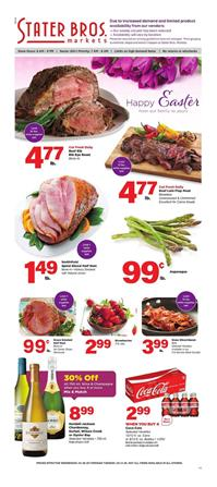 Stater Bros Weekly Ad Sale Apr 8 - 14, 2020