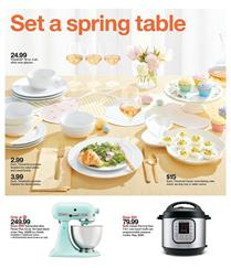 Target Easter Table Ware Apr 5 - 11, 2020