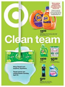 Target Weekly Ad Cleaning Sale Apr 12 18 2020