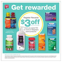Walgreens Ad Cold and Flu Products Apr 19 - 25, 2020