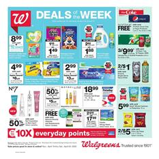 Walgreens Weekly Ad Sale Apr 19 - 25, 2020