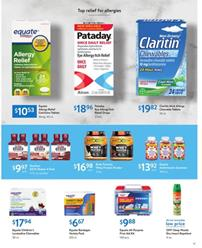 Walmart Health Care Products April 2020