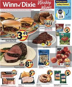 Winn Dixie Weekly Ad Grilling Meat Apr 22 - 28, 2020