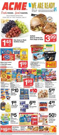 Acme Ad Summer Sale May 29 - Jun 4, 2020