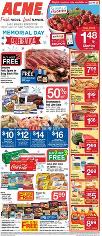 Acme Memorial Day Sale | Weekly Ad Products