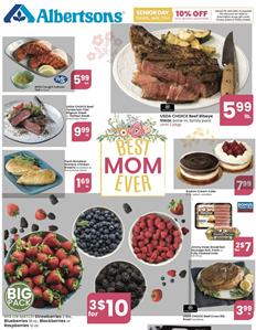 Albertsons Weekly Ad Mother's Day May 6 - 12, 2020