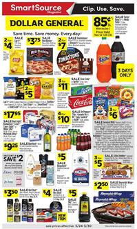 Dollar General Ad Deals May 24 - 30, 2020