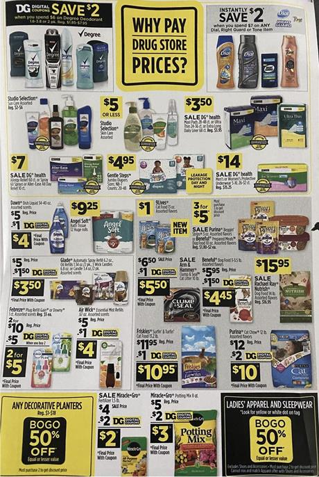 Dollar General Ad Preview May 3 9 2020