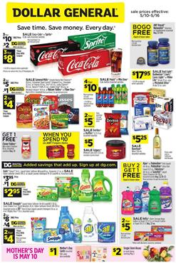 Dollar General Weekly Ad Sale May 10 16 2020