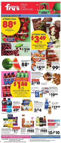 Fry's Weekly Ad Sale May 13 - 19, 2020