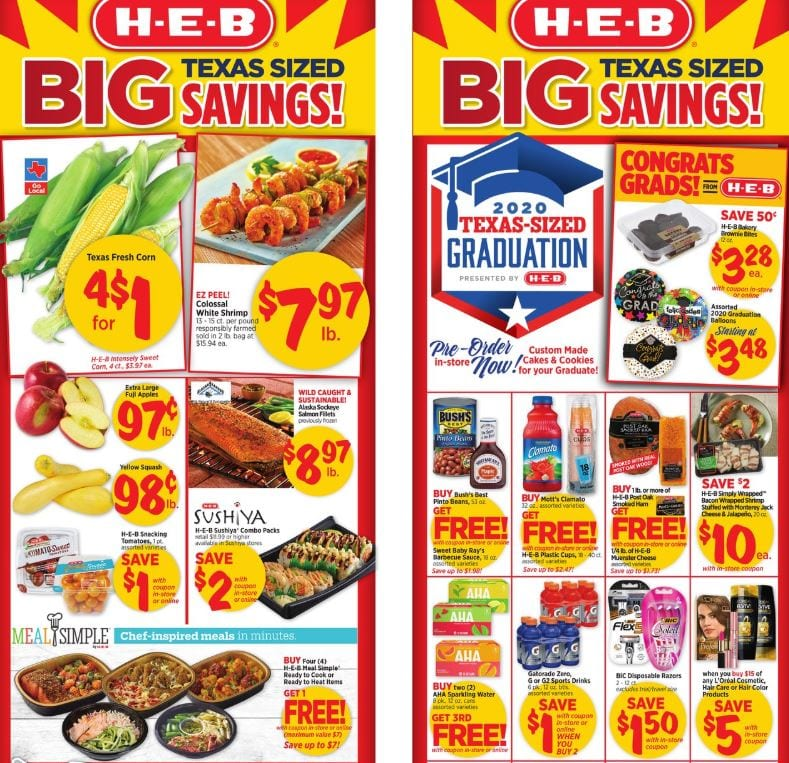 HEB Weekly Ad Sale May 13 19 2020