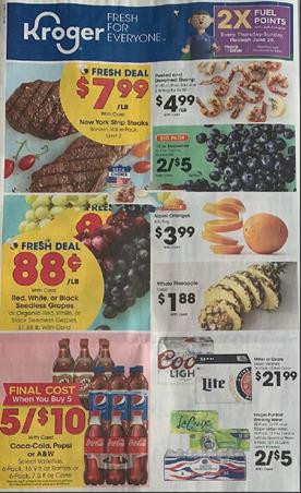 Kroger Weekly Ad Preview Jun 3 9 2020