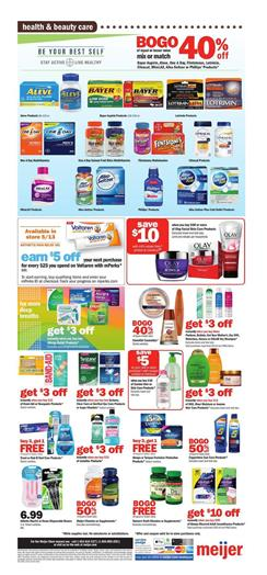Meijer Weekly Ad Pharmacy May 10 - 16, 2020