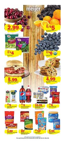 Meijer Weekly Ad Sale May 10 - 16, 2020