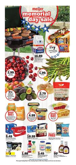 Meijer Weekly Ad Sale May 17 - 23, 2020