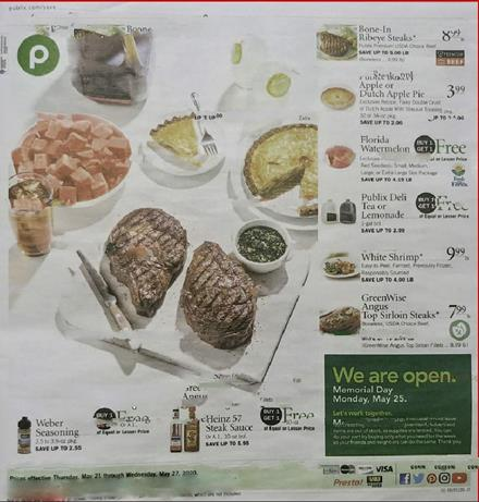 Publix Weekly Ad Preview May 20 26 2020