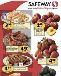Safeway Weekly Ad Friday Sale May 27 - Jun 2, 2020