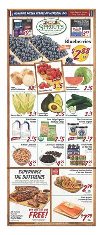 Sprouts Ad Memorial Day Sale May 20 - 26, 2020
