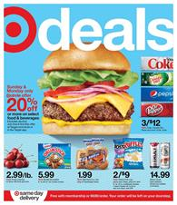 Target Weekly Ad Grocery Sale May 24 - 30, 2020