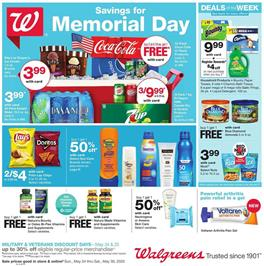 Walgreens Grocery Sale May 24 - 30, 2020