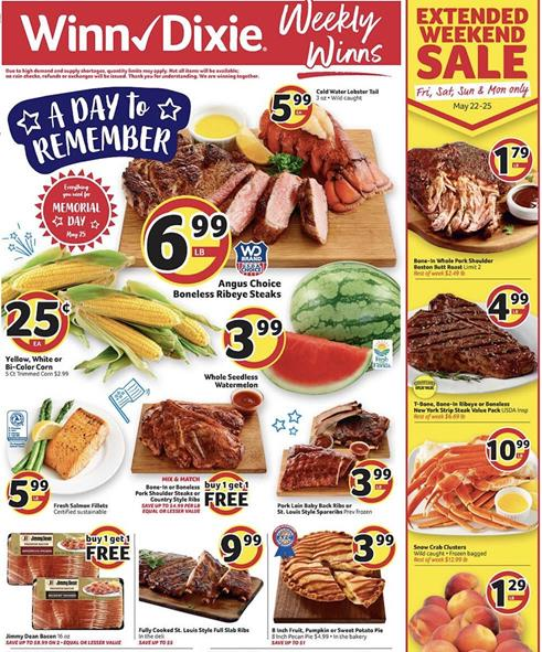 Winn Dixie Weekly Ad Preview May 20 26 2020