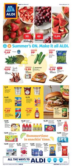 ALDI Ad Summer Sale Jun 7 - 13, 2020