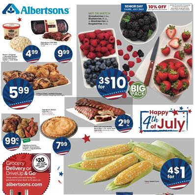 Albertsons Weekly Ad Jul 1 7 2020