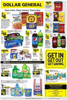 Dollar General Ad Preview Jun 21 27 2020