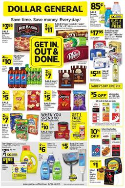 Dollar General Ad Sale Jun 14 - 20, 2020