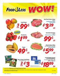 Food 4 Less Ad Fresh Sale Jun 24 30 2020 2