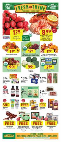 Fresh Thyme Ad Sale Jun 10 - 16, 2020