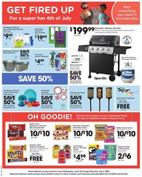 Frys Ad 4th of July Sale Mix and Match Products