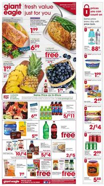 Giant Eagle Ad Sale Jun 4 - 10, 2020