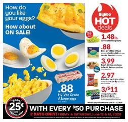 HyVee Egg Deal Jun 10 - 16, 2020