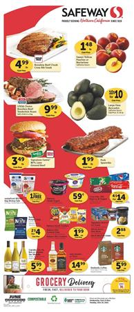 Safeway Weekly Ad Grocery Jun 24 - 30, 2020
