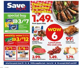 Save A Lot Ad Special Buy Jun 10 - 16, 2020