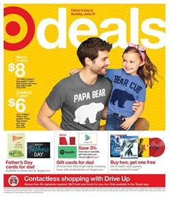 Target Ad Father's Day Gifts Jun 14 - 20, 2020
