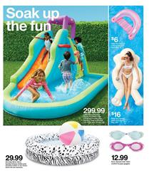 Target Summer Fun Jun 7 - 13 | Pools, Bikes, Patio